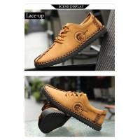 Férfi alkalmi bőr cipő