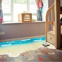 3D tengerpartos padlómatrica