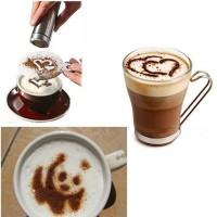 Barista kávé díszítő
