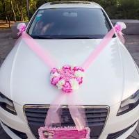 DIY esküvői autó dekoráció