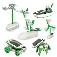 6 az 1-ben napelemes robot