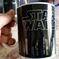 Star Wars hőre változó bögre