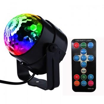 LED diszkó lámpa