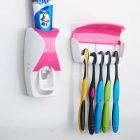 Fogkrémadagoló fogkefetartóval