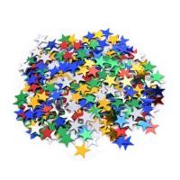 Színes csillagos konfetti