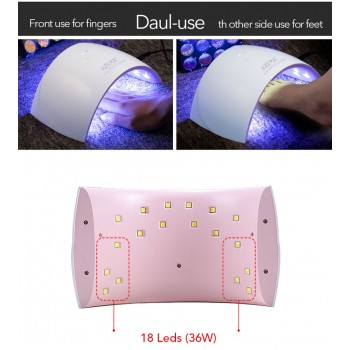 LED lámpás köröm szárító