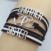 Legjobb testvér karkötő