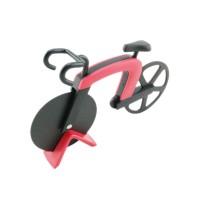 Biciklis pizza szeletelő