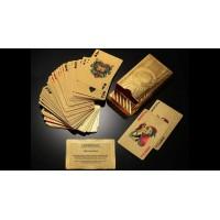 Arany póker kártya szett