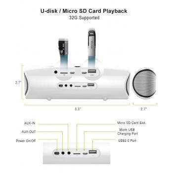 Bluetooth 4.0 vezeték nélküli hangszóró